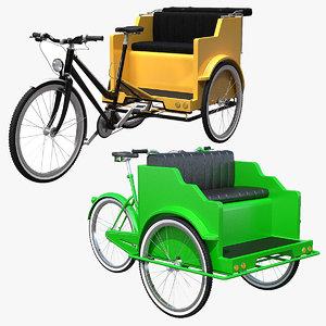 pedicab cab model