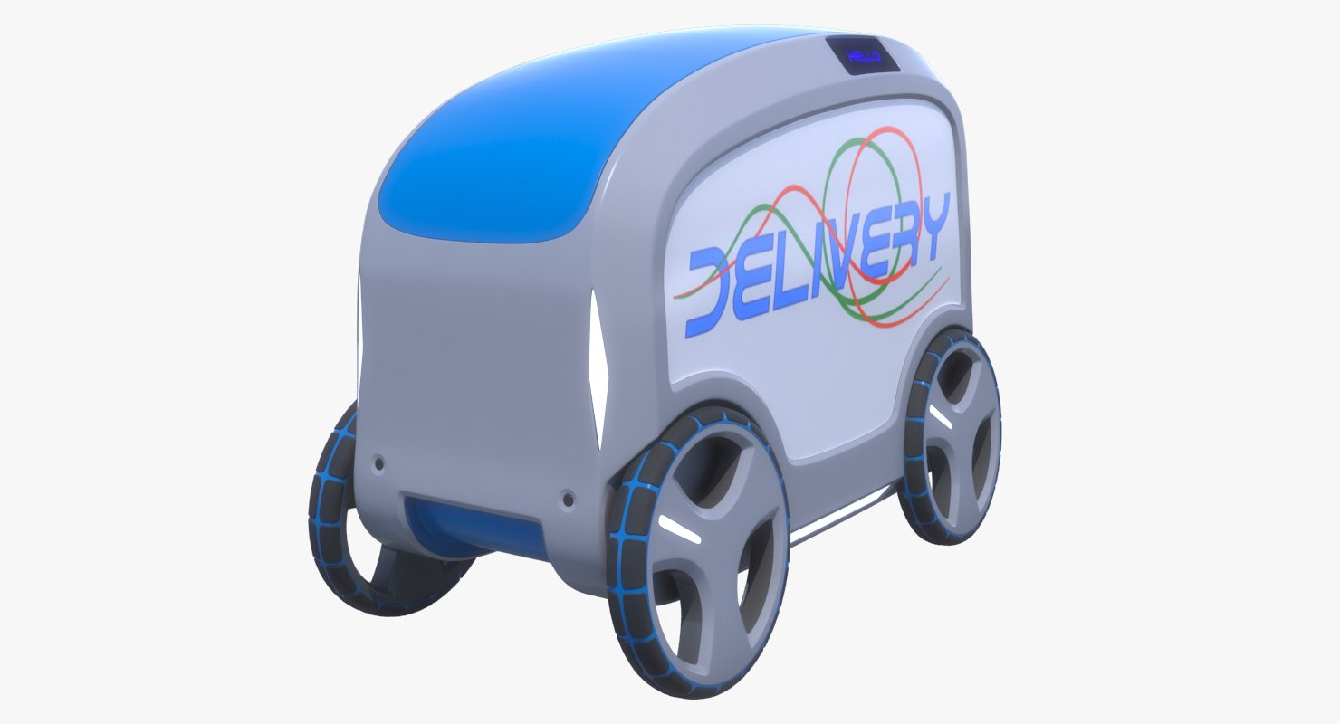 3D delivery concept model