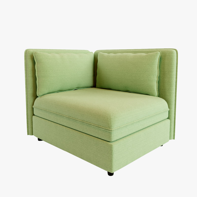 Ikea Vallentuna Sofa 3d Model Turbosquid 1182878