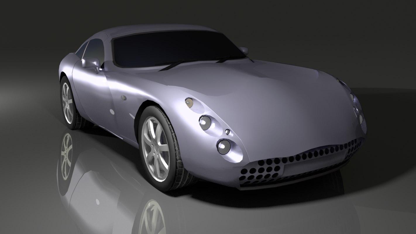 3D sport coupe