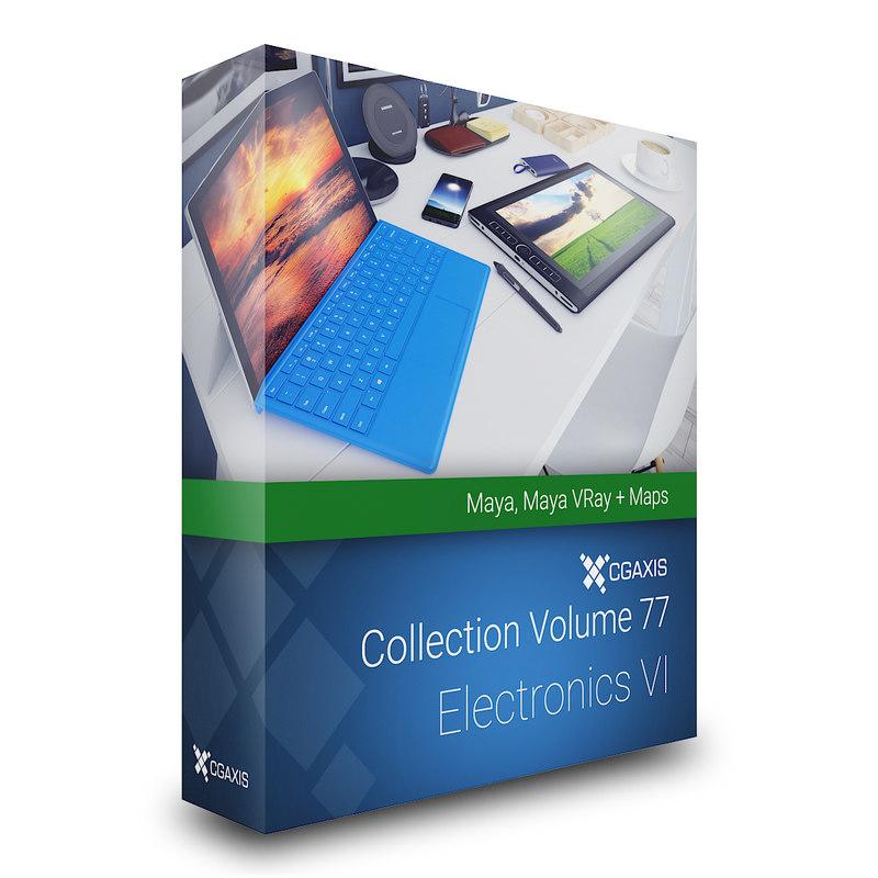 volume 77 electronics vi 3D model