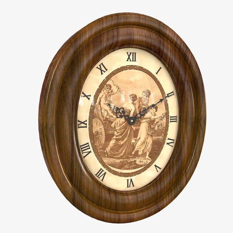 vintage wall clock model