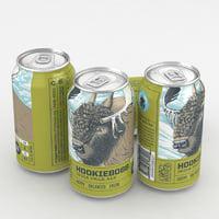 3D beer ipa model