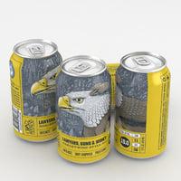 3D beer ale
