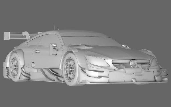 mercedes amg c63 dtm 3D