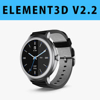 E3D - LG Watch Style 3D model