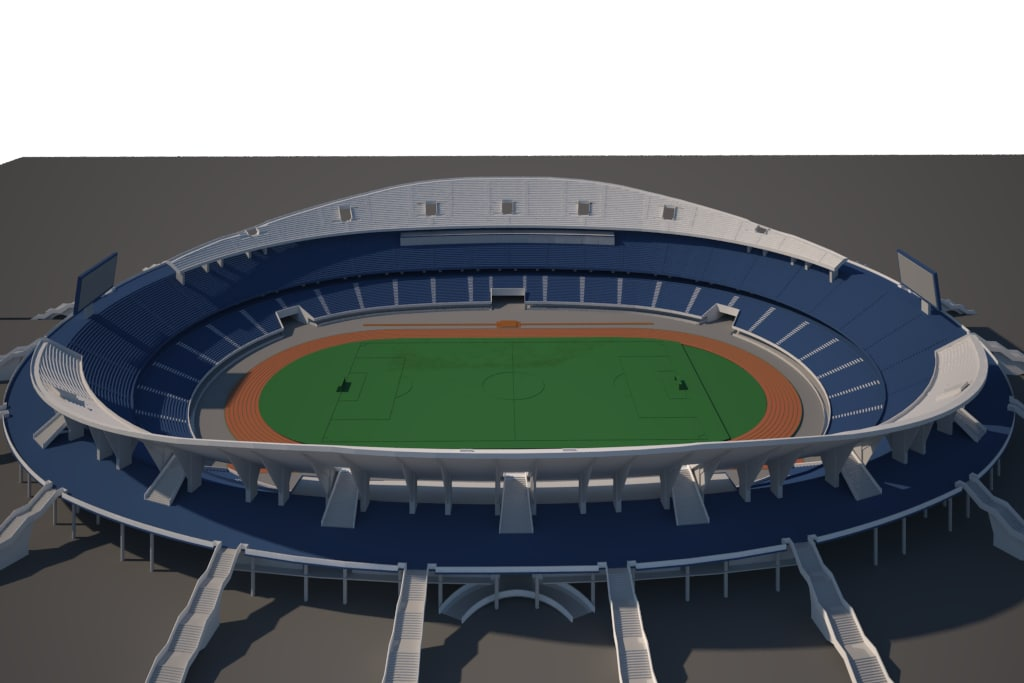 soccer olympic stadium model