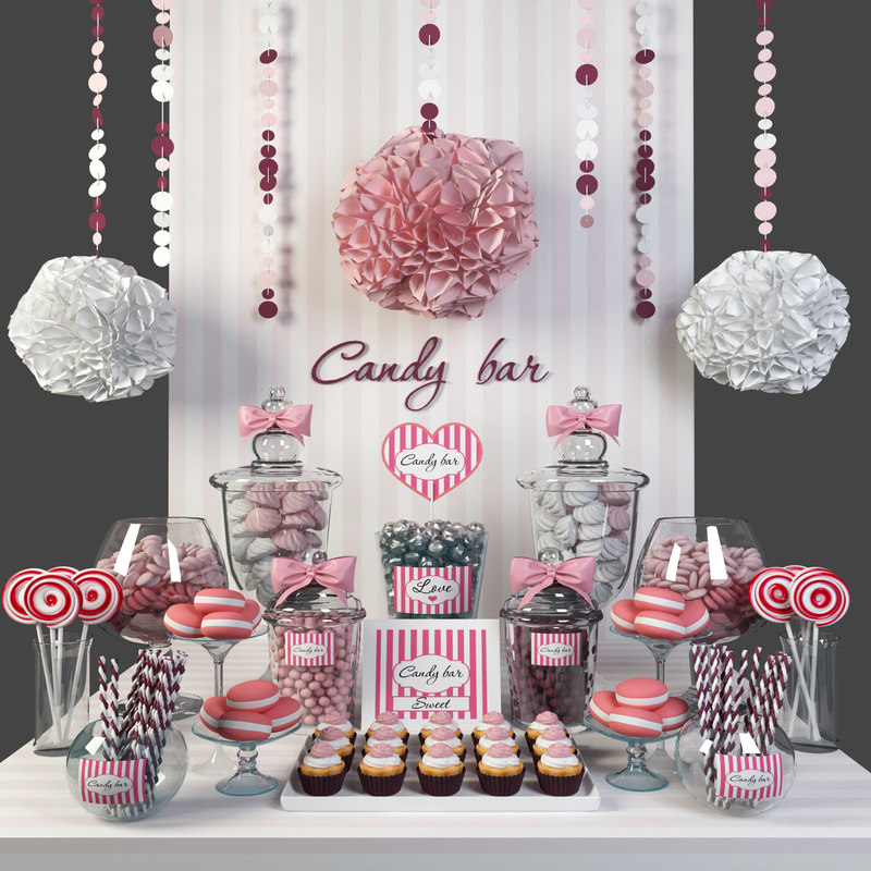 bar candy 3D