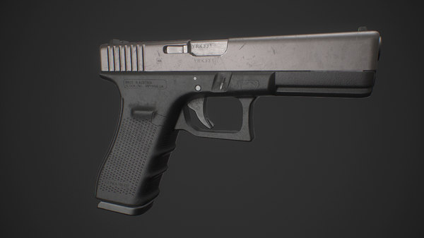 glock 17 ready 3D model