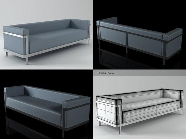 m2 sofa 3D