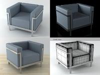 3D m1 armchair model