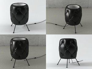 3D chester floor lamp