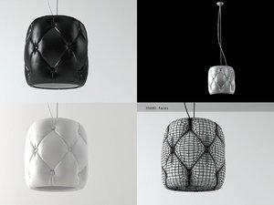 3D chester pendant lamp model