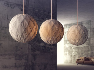 napoleon nile pendant lamp 3D model