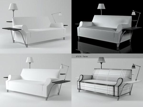 l w s lazy 3D model