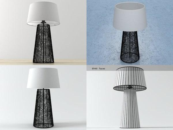 lampe laurel 3D