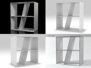 shelf bookcase sl66-1 b model