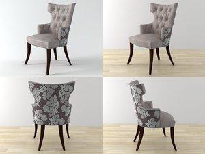 athens chair 2901a 3D model