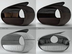 spartan daybed open weaved model