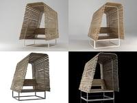 illu armchair 3D