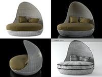 3D garden lounge n