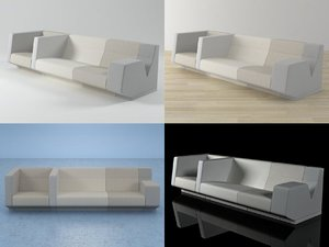 seracs 3D model