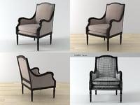 3D haut armchair