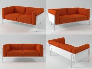 rr03 sofa 2s 3D model