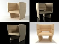 3D cup armchair