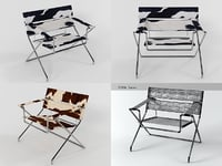 3D d4f bauhaus chair