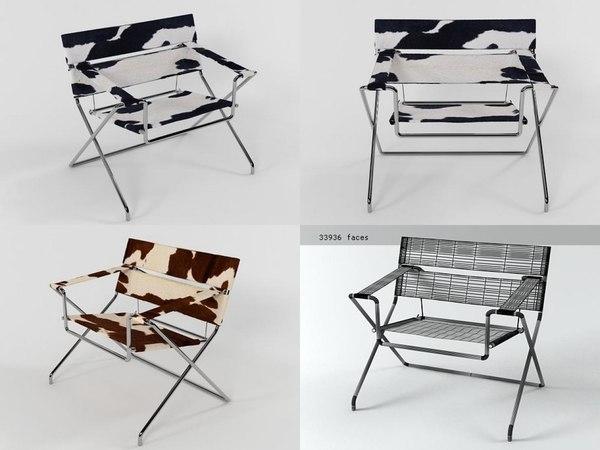 3D d4f bauhaus chair