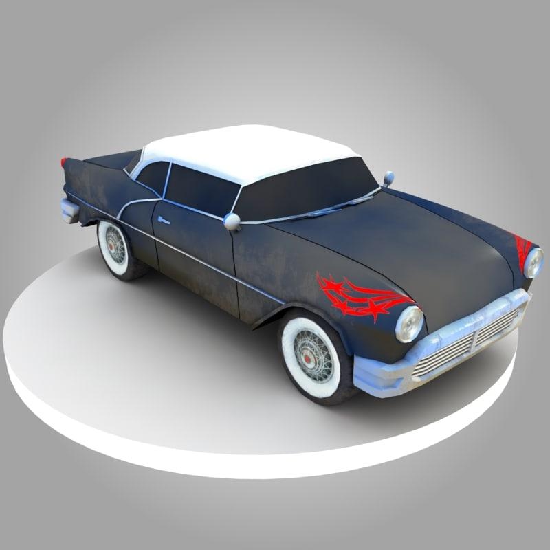 ready oldsmobile car 3D model