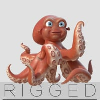 rigging octopus model