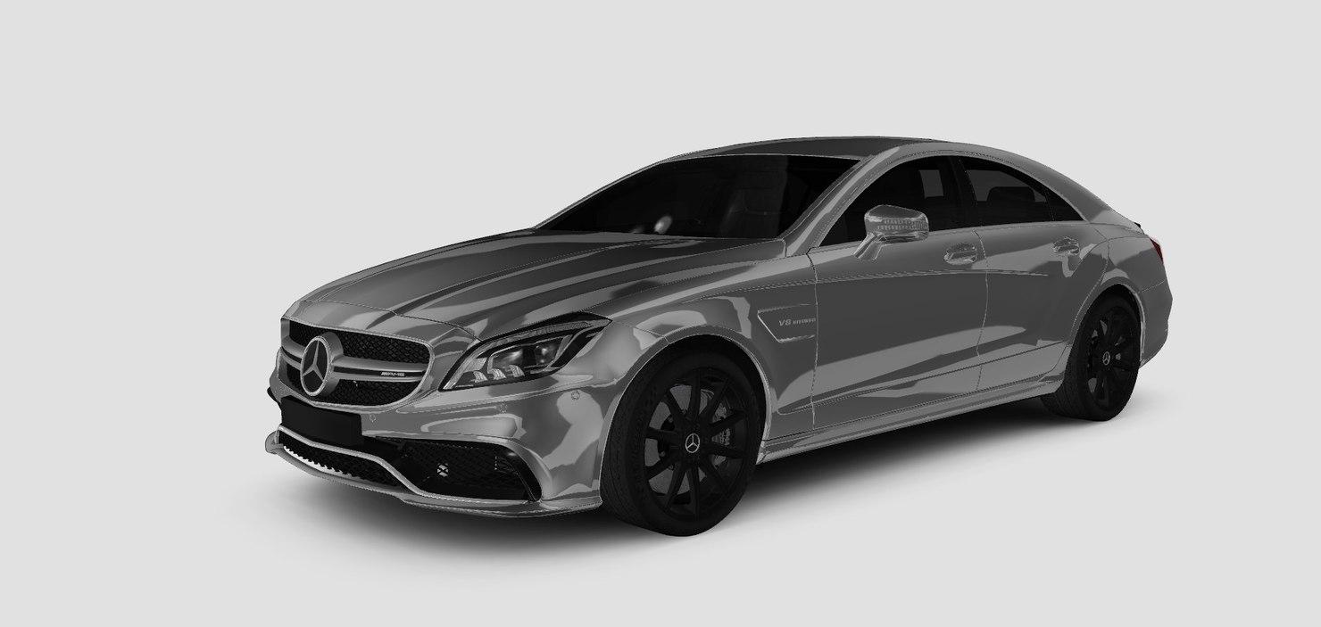 mercedes 2016 3D model