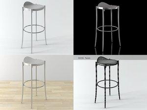 3D janet stool