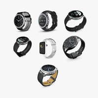 smartwatch watch 3D model