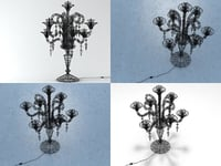3D chandelier lagrange model