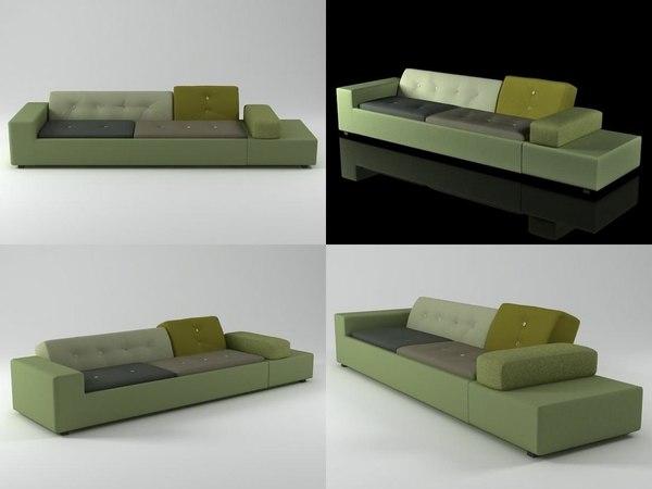 polder sofa 3D