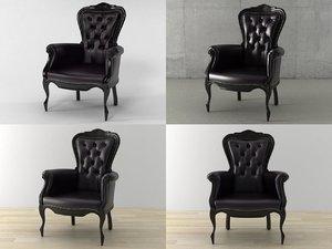 3D smoke chair