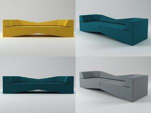 xo sofa 3D model