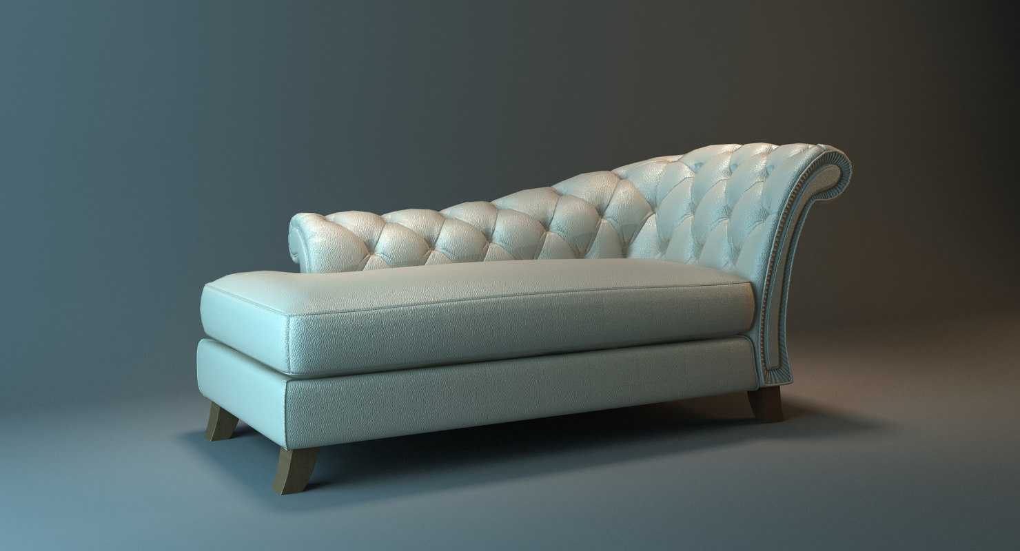 3D classical lounge interior