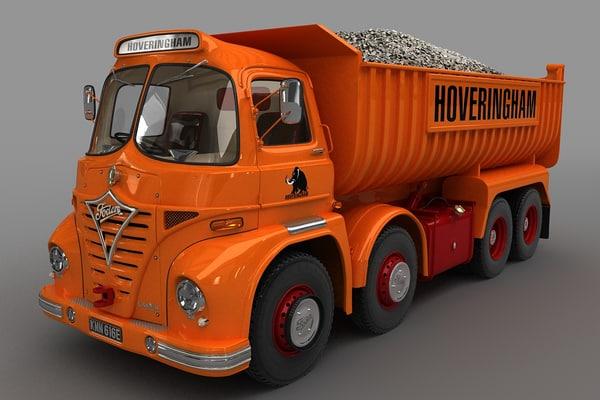 3D foden s21 truck 1962