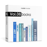 3D vol 06 books model