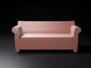 bubble club sofa 3D model