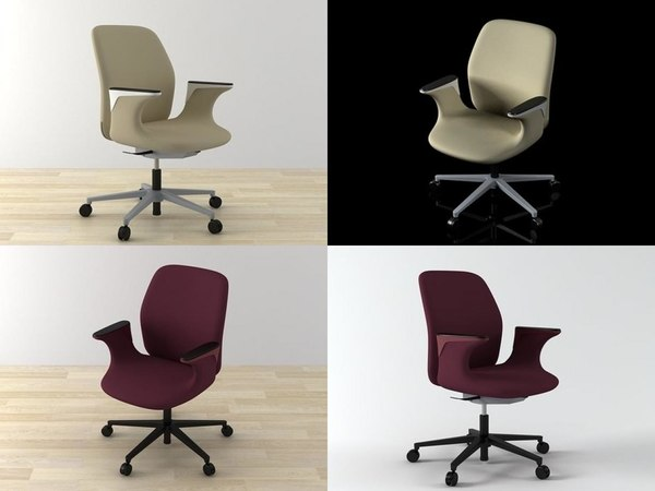 worknest vitra 3D