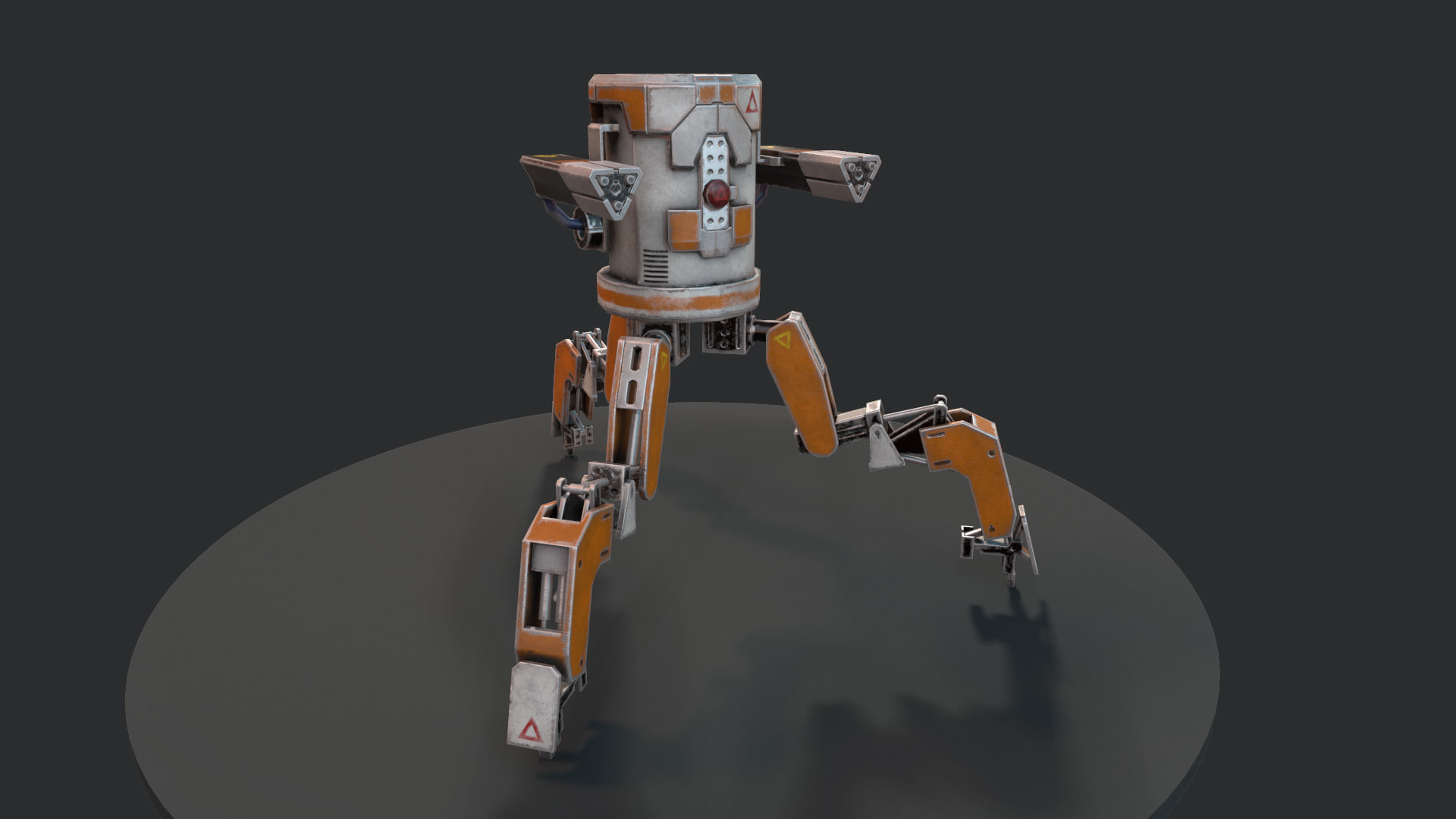 3D legged mech robot