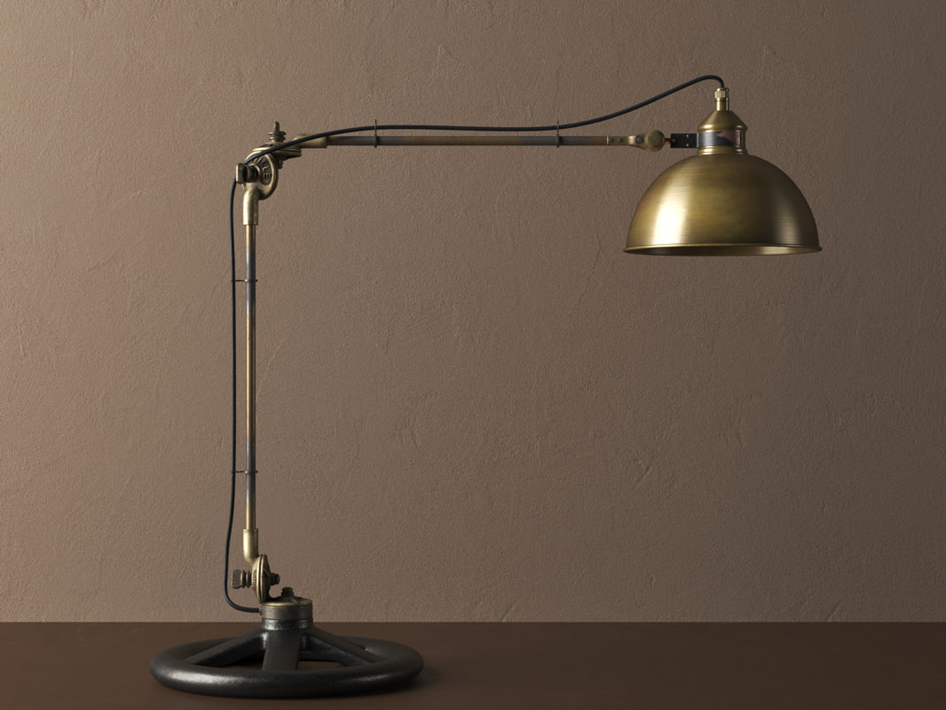 mccroskey task table lamp 3D model