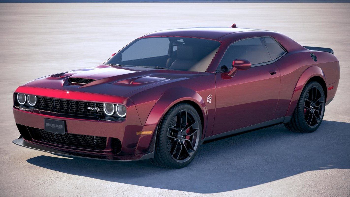 dodge challenger srt 3D model
