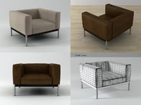 3D helion armchair model