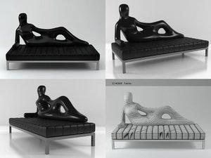 divina driade 3D model